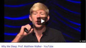 Matthew Walker on Sleep