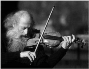 old violinist