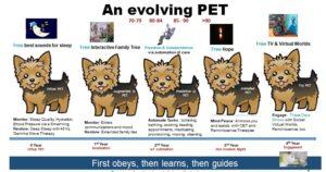 Evolving AI PET