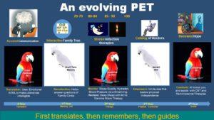 An Evolving AI PET for Mom