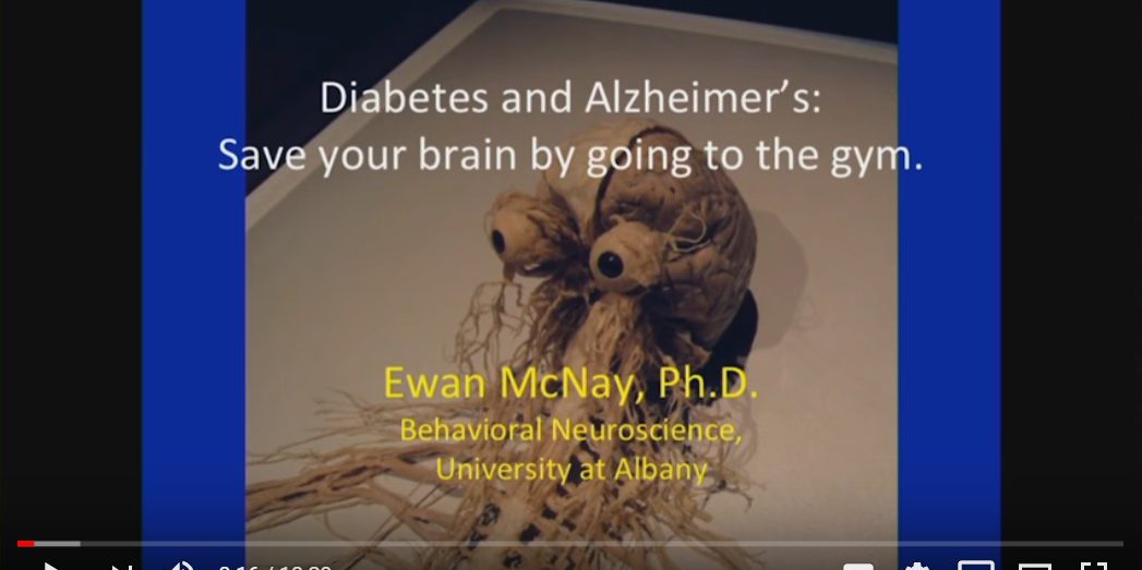 Alzheimer's, Diabetes and Exercise